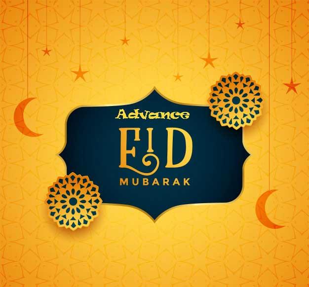 Advance Eid Mubarak SMS