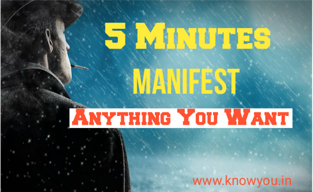 Five minutes to miracles happy manifesting, Five Minutes to Manifest anything, Law of Attraction 2020.