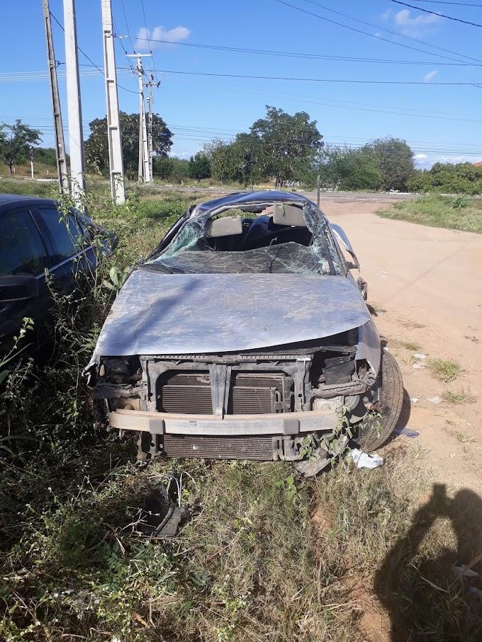MOTORISTA LEVADO PRA DELEGACIA APÓS ATROPELAR 3 PESSOAS NO BAIRRO CIDADE 2000 EM CRATEÚS