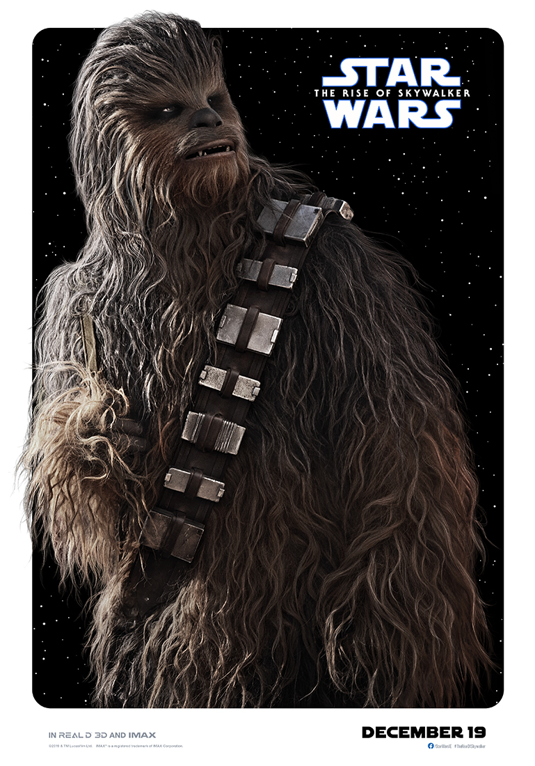 Star Wars: The Rise of Skywalker chewbacca poster