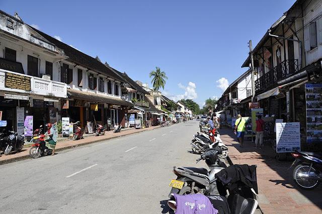 Luang Prabang en Laos Viajes