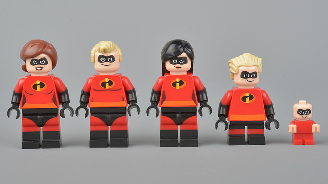 incredibles, lego-minifigures, flickr-brickset