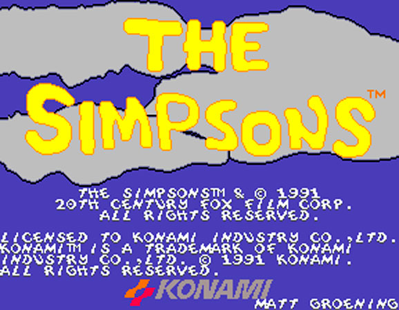 The Simpons Arcade Game 1