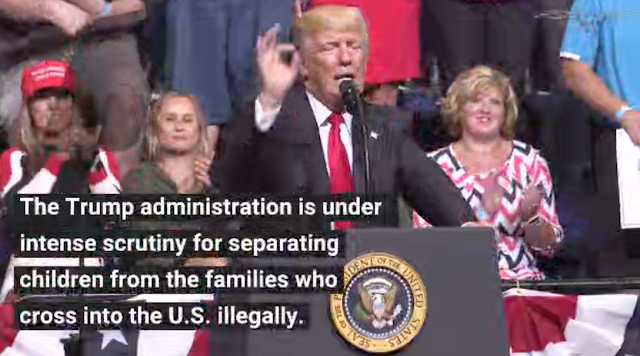 House Dems heckle Trump over family separation after House GOP meeting