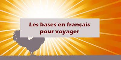 Les bases en français pour voyager