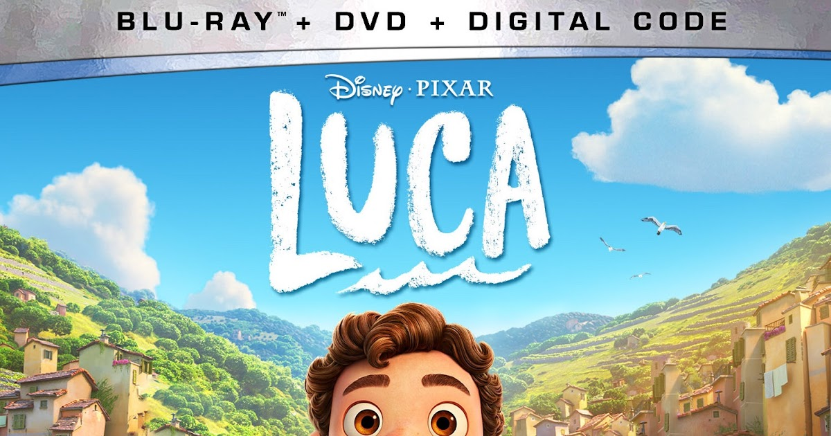 Luca on 4K Ultra HD, Blu-ray, Digital and DVD Available ...