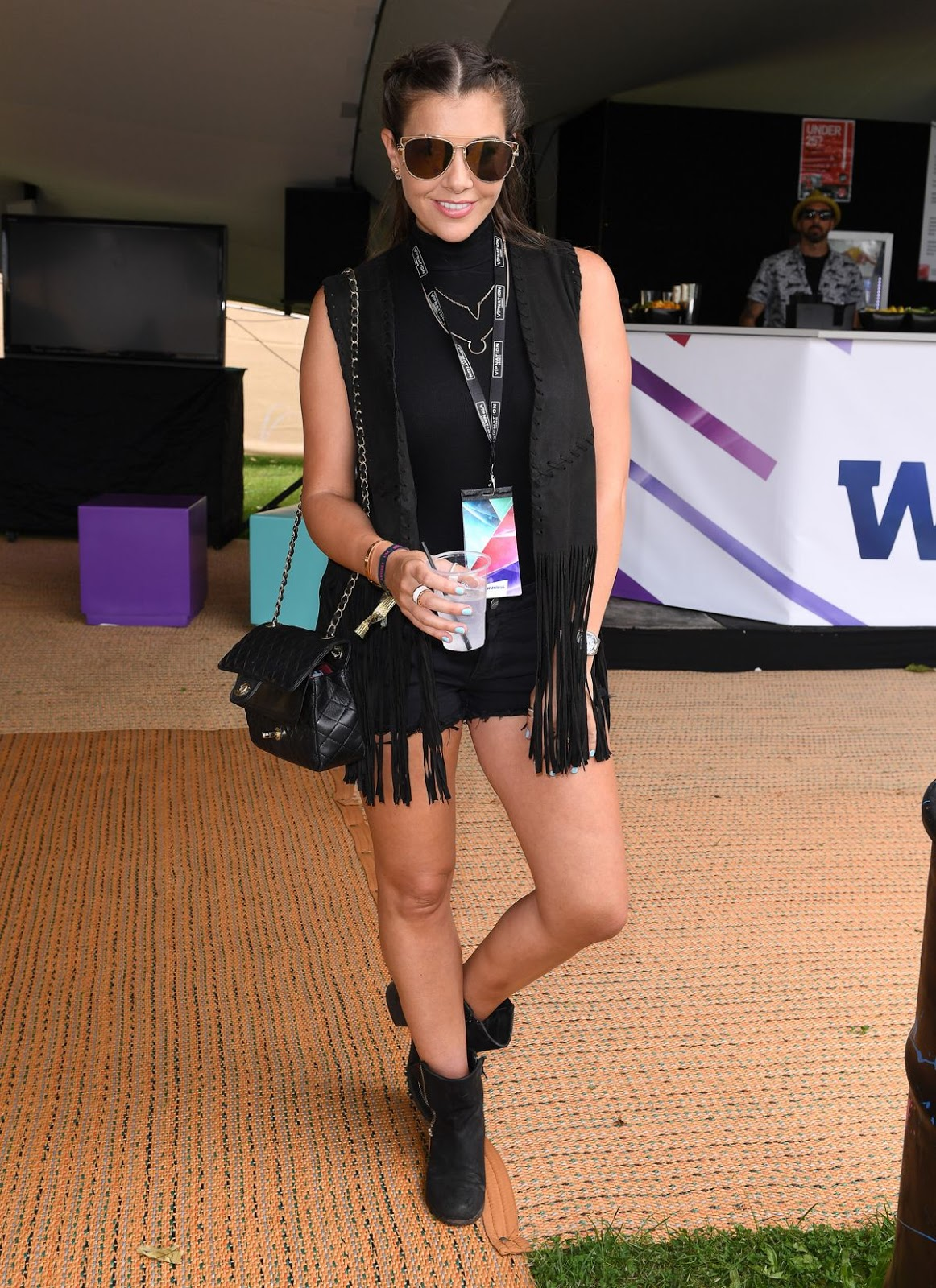 Imogen Thomas at Wireless Festival Finsbury Park London