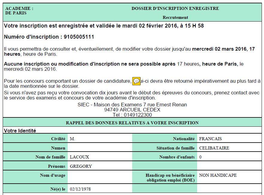 d1f9a426822 Grégory LACOUX  Réussite d un concours de la fonction publique   CDD