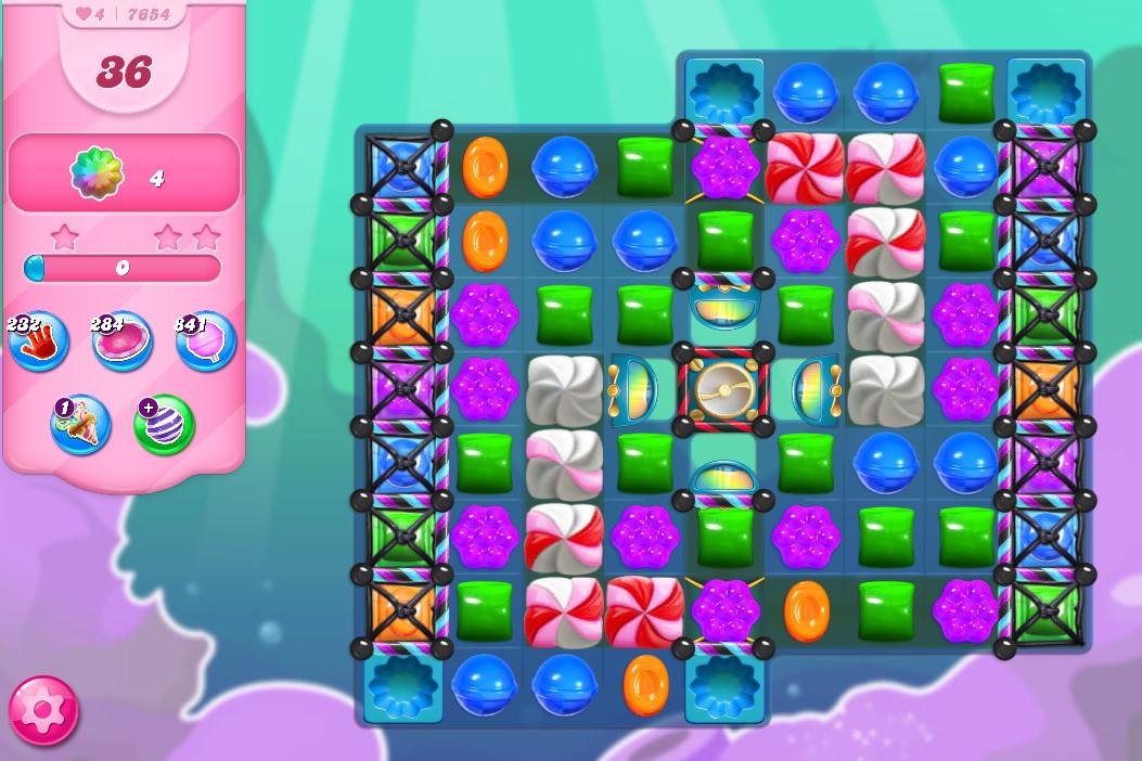 Candy Crush Saga level 7654