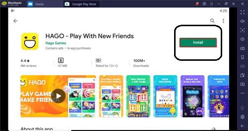 Hago App for PC