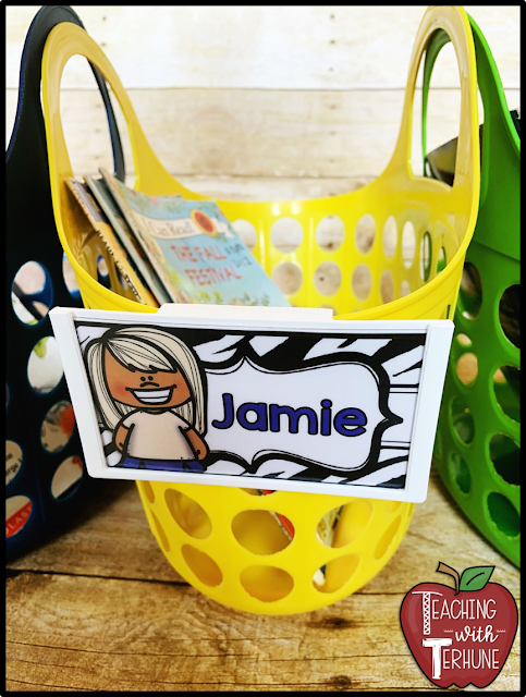 Classroom Library Book Baskets