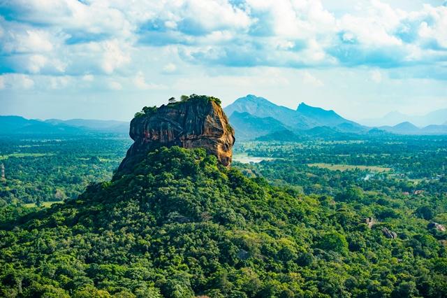 Sigirya- Sri LAnka (foto banco de imagem @sita_india)