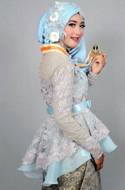 35 Kebaya Modern Hijab Yang Lagi Booming 2019 1000 Model Baju