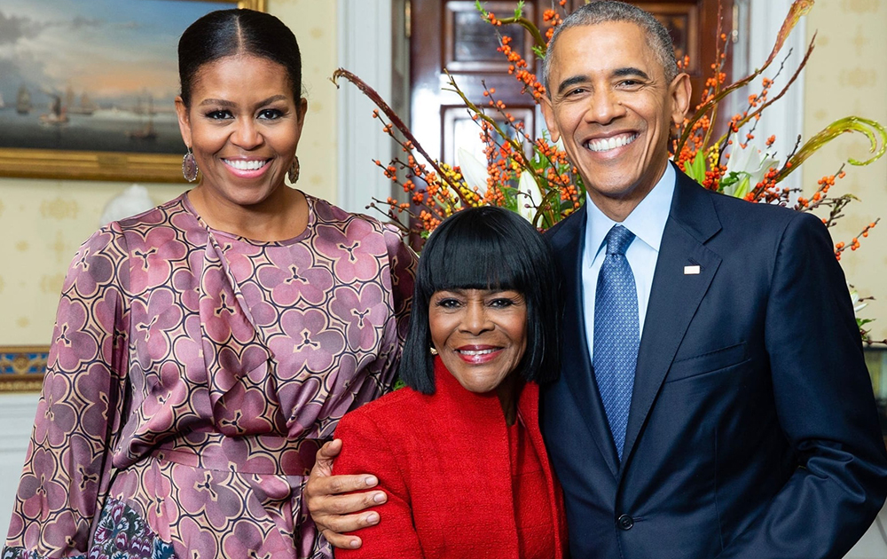 Barack Obama, Michelle, Cicely Tyson