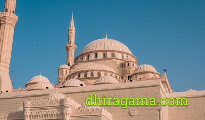 Doa Masuk Masjid Lengkap