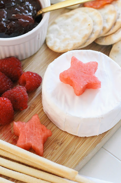 Fourth of July Cheese Platter