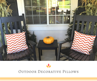 Outdoor Decorative Pillows {Friday Finds}