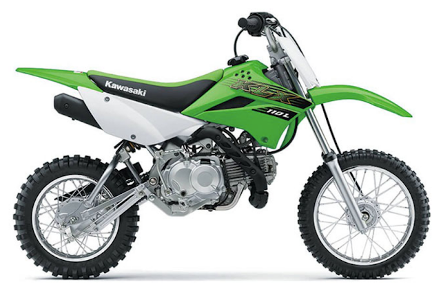 harga Motor Kawasaki KLX 110 L