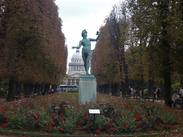 jardin du luxemburg a parigi