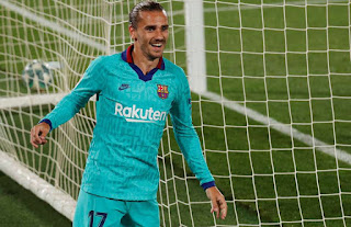 Video: Griezmann Scores stunning chip in Barcelona 4-1 win against Villarreal