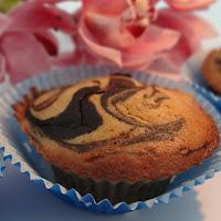 Muffins de banana e alfarroba