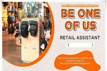 Lowongan Kerja Bandung Retail Assistant Eiger Indonesia