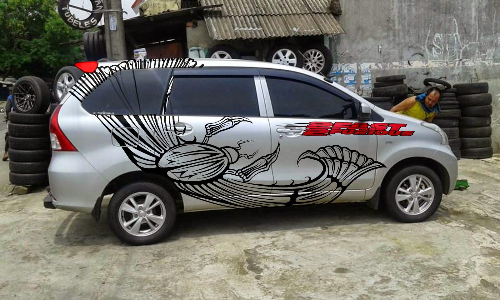Cutting Sticker Grand New Avanza All Camry Philippines Modifikasi Livina Terbaru Sobat
