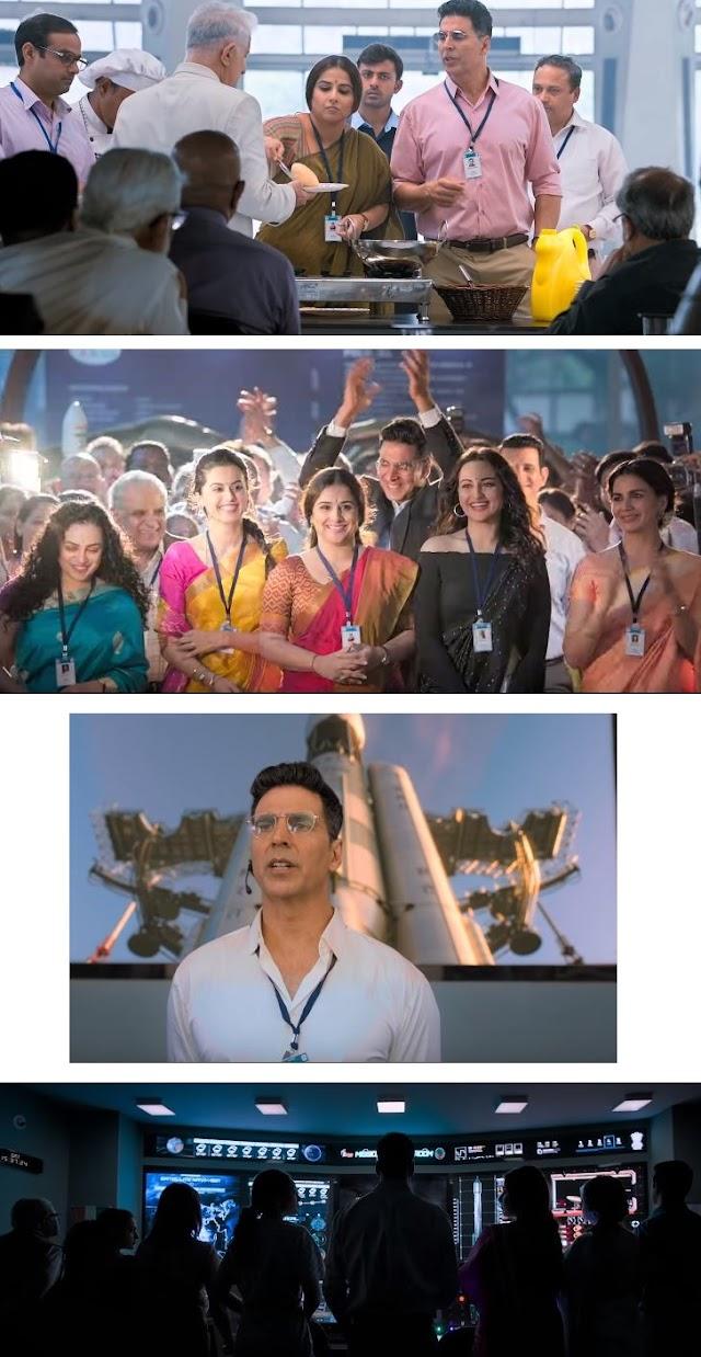 Tamilrockers - Mission Mangal 2019 Hindi 720p 480p pDVDRip Leaked