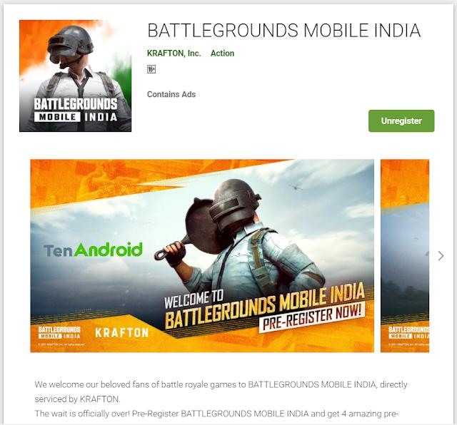 Pre-Register BATTLEGROUNDS MOBILE INDIA Video
