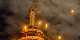 The Enchantment of the Statue of Jesus Buntu Burake Toraja, the World's Tallest Beat Brazil