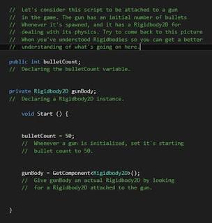 اساليب إضافة C++ Script إلى Unity Game Project