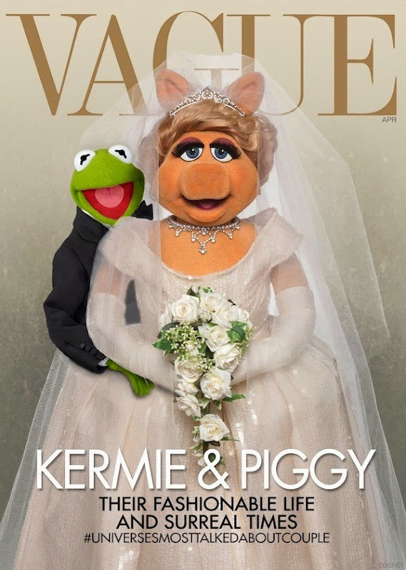 Muppets spoof Kim Kardashian Vogue wedding cover