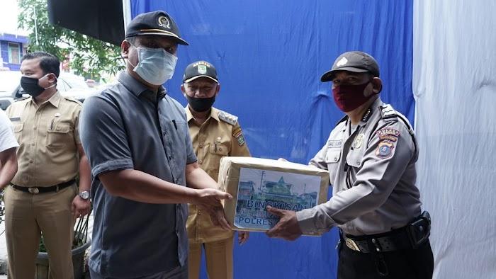 Bupati Asahan beserta rombongan Lakukan pengecekan Pos  Pam sekat OPS Ketupat Toba 2020