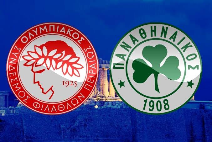 Olympiakos x Panathinaikos: O dérbi dos inimigos eternos.