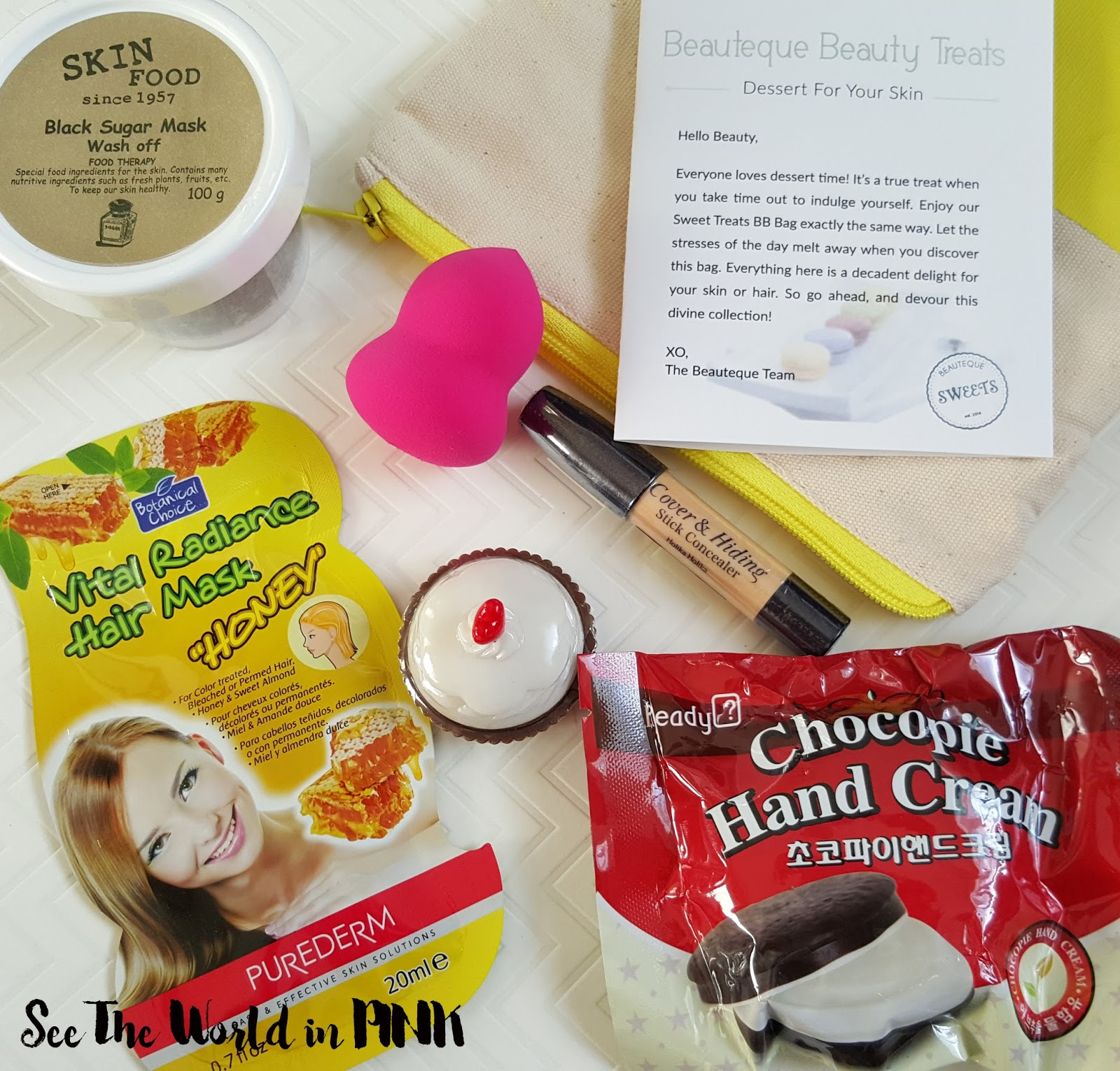 june 2016 Beauteque Monthly BB Bag