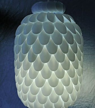 How To Make Pineapple Lamp From Spoon