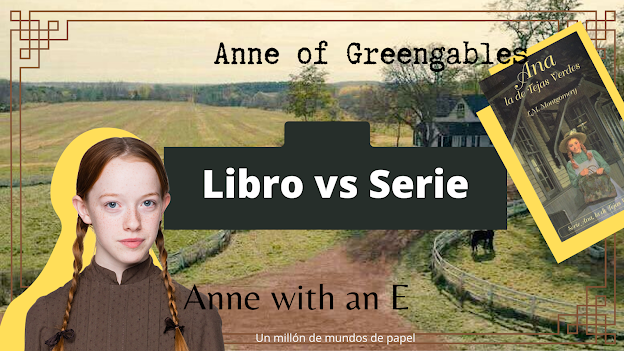 anne with an e libro vs serie