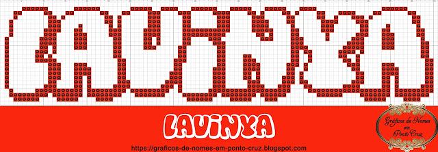 Nome Lavinya em Ponto Cruz