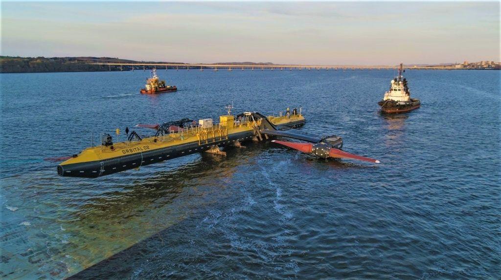 Projeto de energia das marés flutuantes obtem apoio da Comissão Europeia