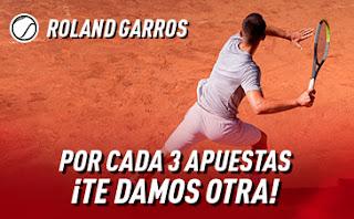 Sportium Promo Roland Garros 5-11 octubre 2020