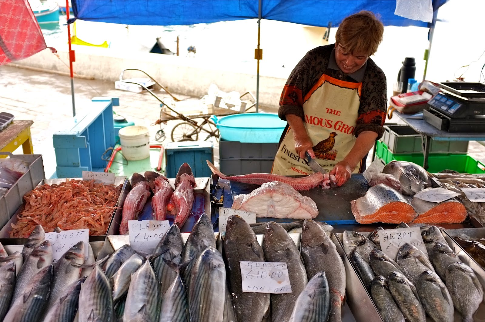 Sunday morning in marsaxlokk africa thoughts for One fish two fish restaurant