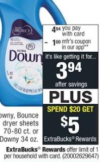 CVS Deal on Tide Pods & Bounce $1.44 - 6/23-6/29
