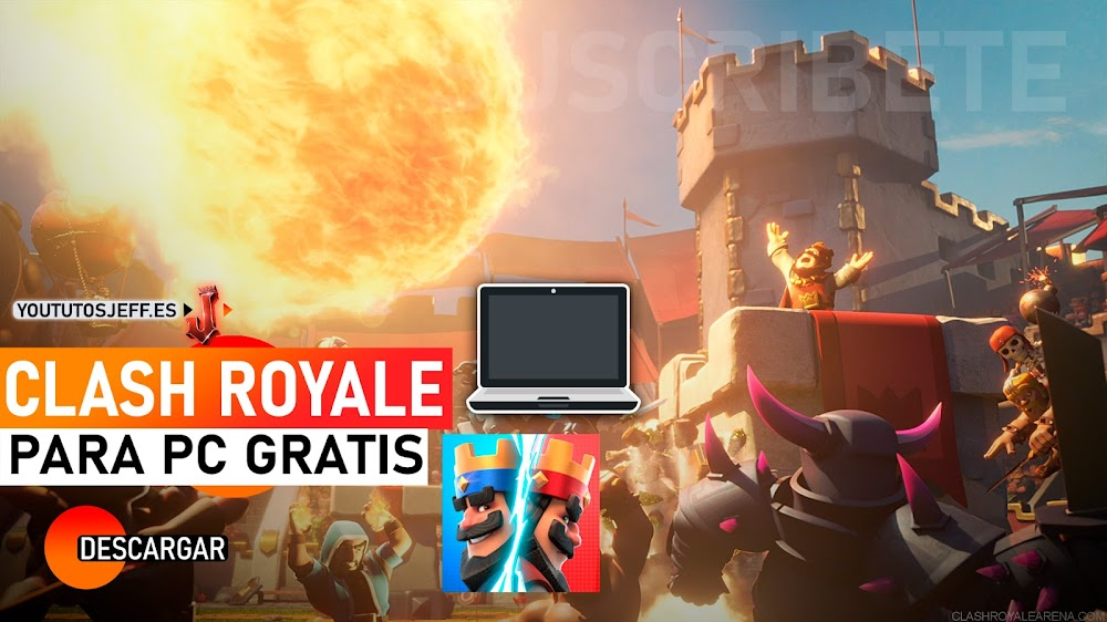 Descargar e Instalar Clash Royale para PC GRATIS Y SIN LAG