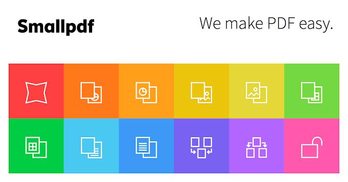 Online PDF Convert කර දෙන Small PDF