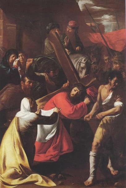 Nicolò Musso, pintor caravaggesco, visita guiada com guia em portugues em Roma