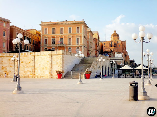 Bastion of Saint Remy roof, Cagliari | Sardinia, Italy | wayamaya