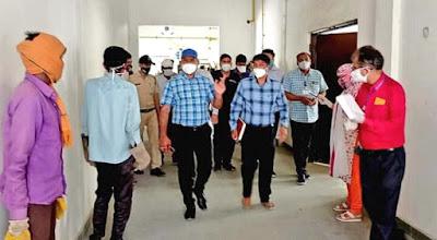 Madhya Pradesh News: Shahdol कलेक्टर ने मेडिकल कॉलेज में व्यवस्थाओ का लिया जायजा