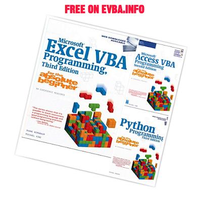 TOP 3 FREE EBOOKS 2020 Microsoft Access + Excel + Python VBA Programming for the Absolute Beginner on EVBA.info