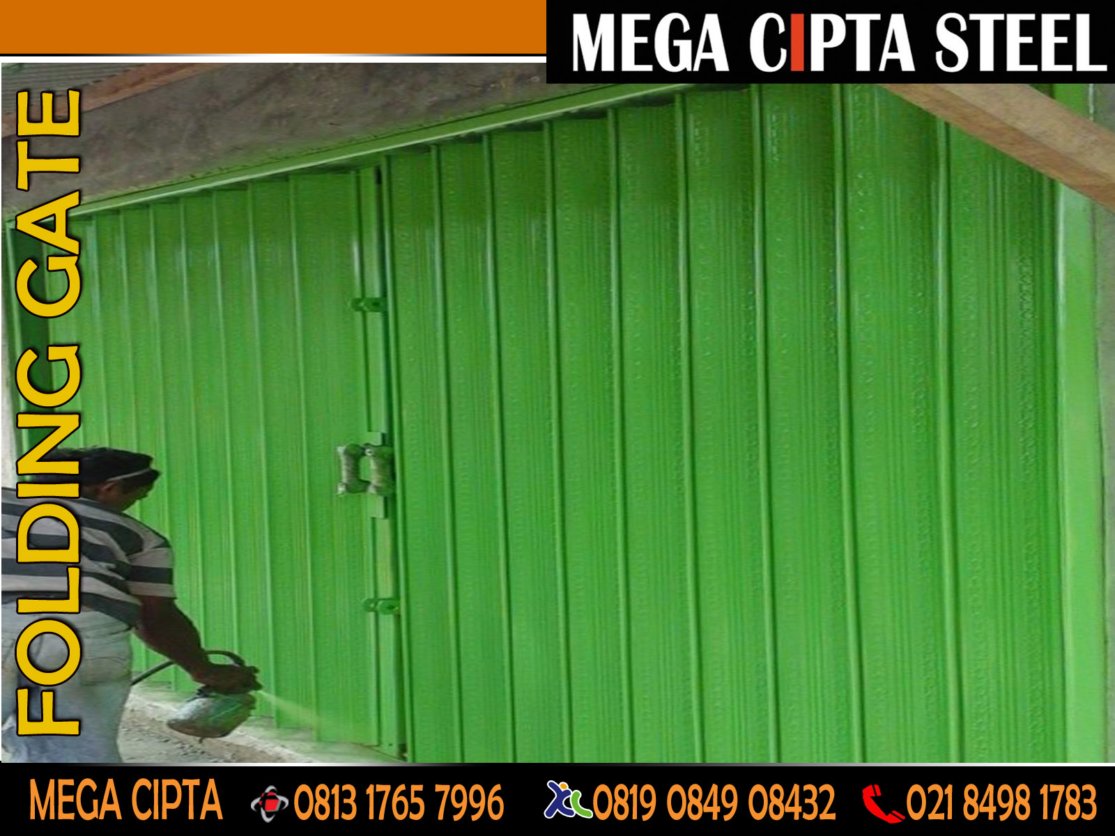 HARGA FOLDING GATE RAOLLING DOOR   ONE SHEET INDUSTRI JAKARTA BEKASI ...