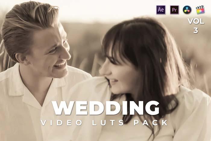 Wedding Pack Video LUTs Vol.3